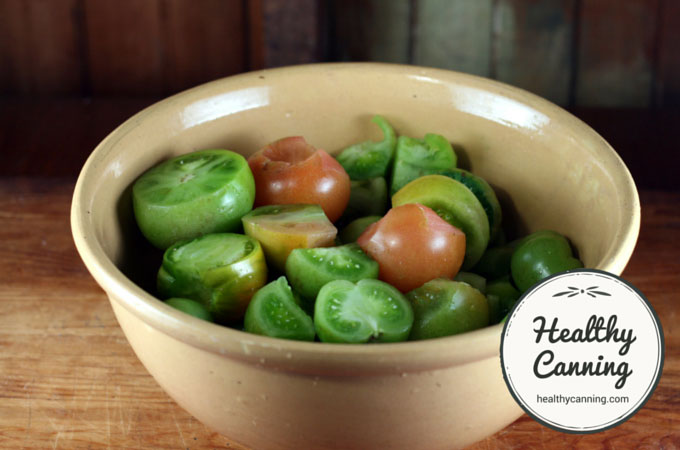 Green Tomato Salsa 011