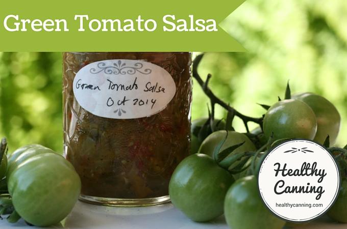 Green Tomato Salsa 2001