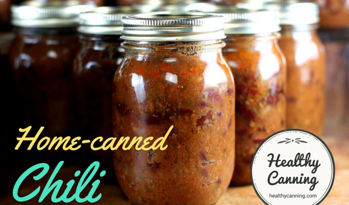 Home Canned Chili