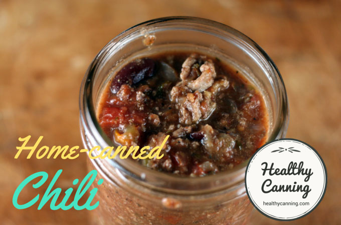 Home Canned Chili 3
