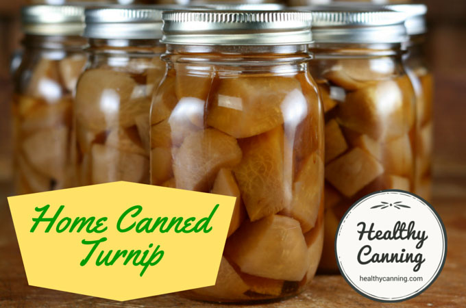 Home Canned Turnip