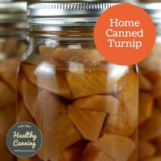 Canning turnip
