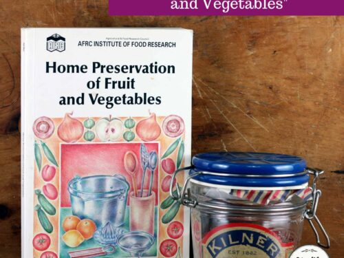 Home Preservation of Fruit and Vegetables Review
