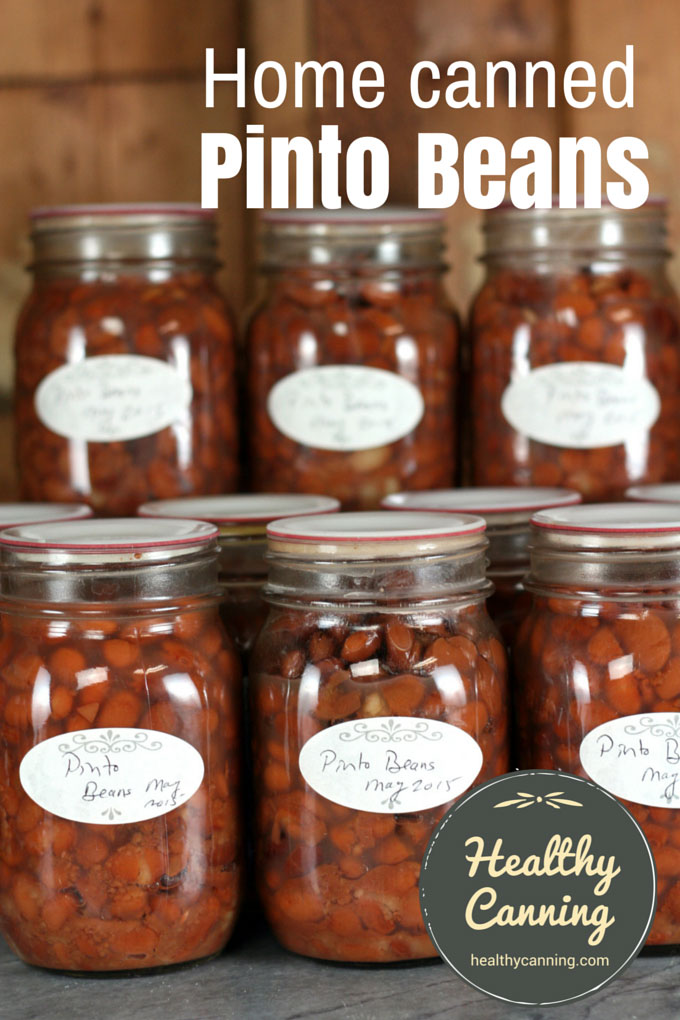 Home canned Pinto Beans 003