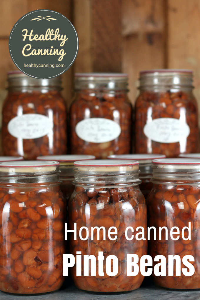 Home canned Pinto Beans 004