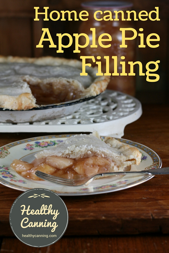 Home canned apple pie filling 01