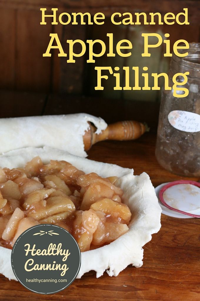 Home canned apple pie filling 02