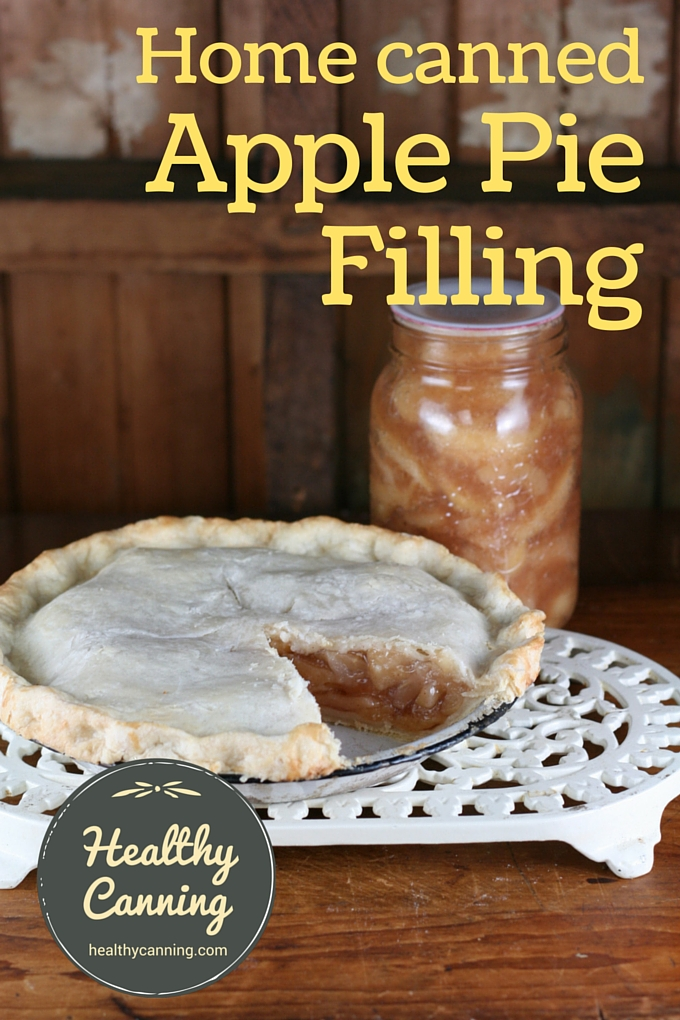 Home canned apple pie filling 03