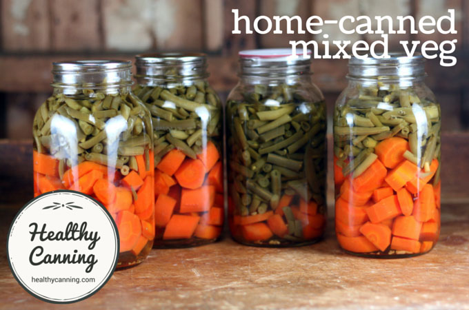 Home canned mixed vegetables 001