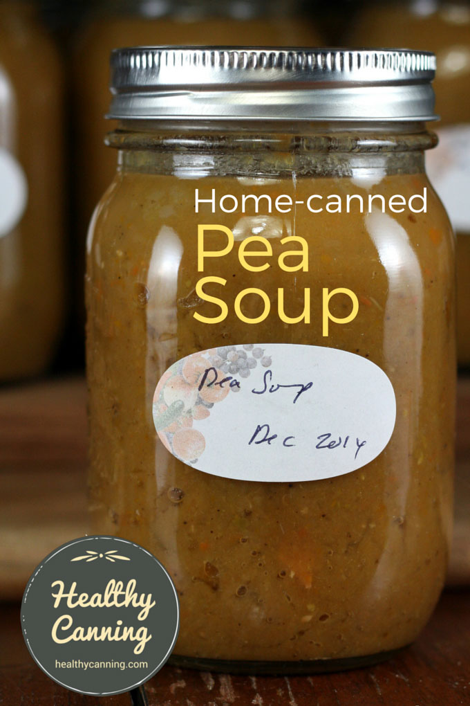 Home canned pea soup 007