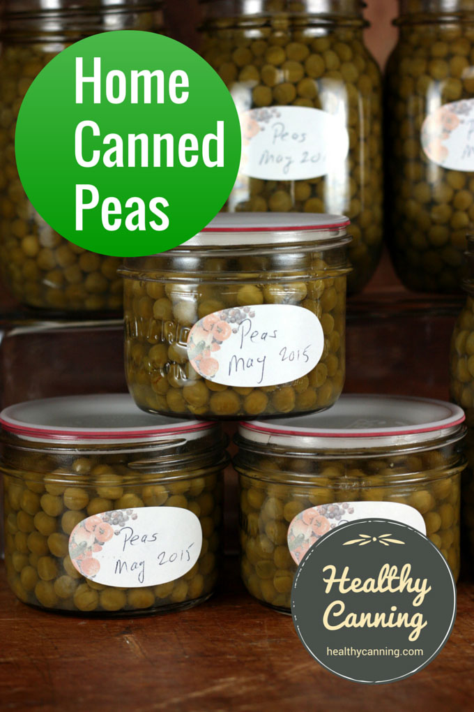 Home canned peas 002
