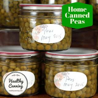 Canning Peas