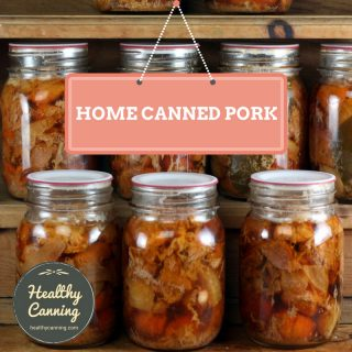 Canning pork
