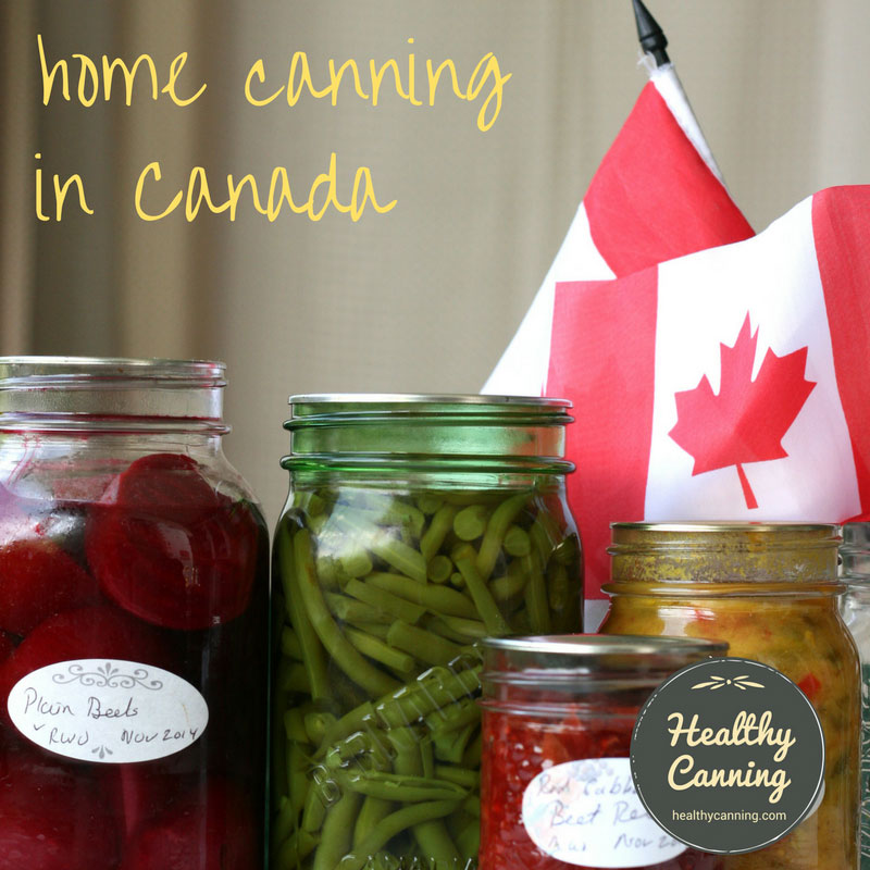 Resources for home canning in Canada