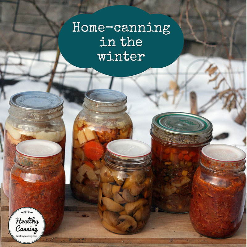 Winter home canning