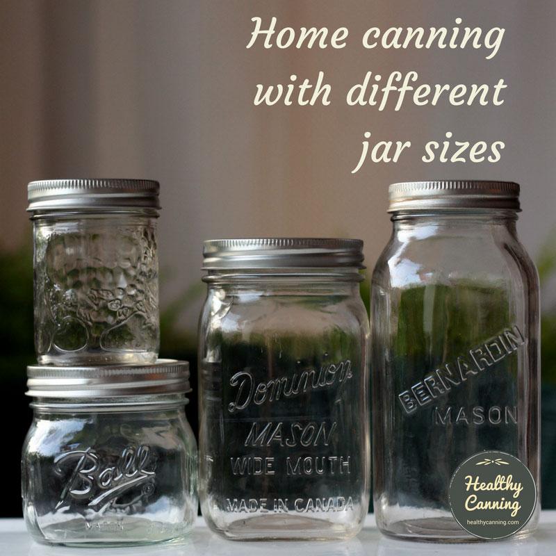 Jar Sizes