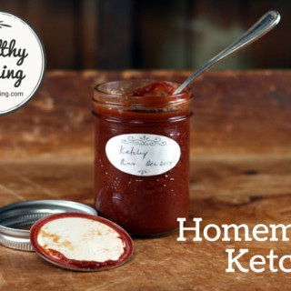 Tomato Ketchup from scratch