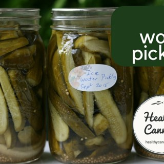 Ice Water Pickles