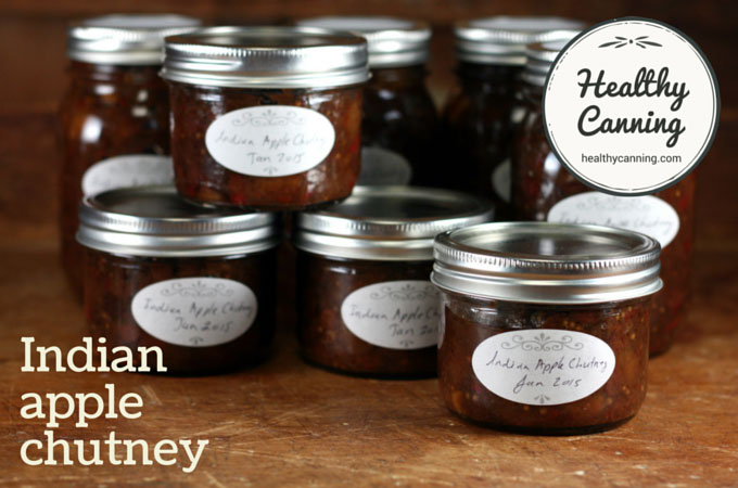 Indian apple chutney 011