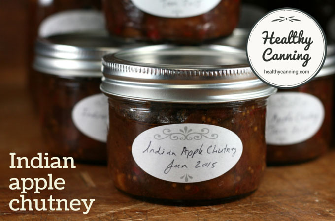 Indian apple chutney 012