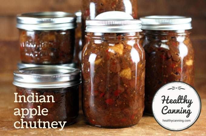 Indian apple chutney 015