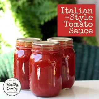 Italian-Style Tomato Sauce