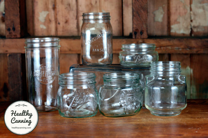 Leifheit and some other jar shapes in use now and in the recent past by canners.