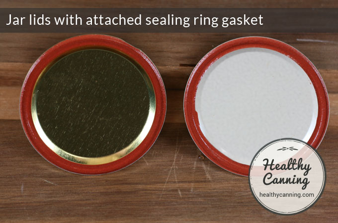 Jar-lids-with-attached-sealing-ring-gasket