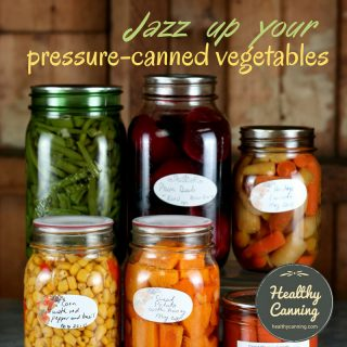 home canned mixed veg