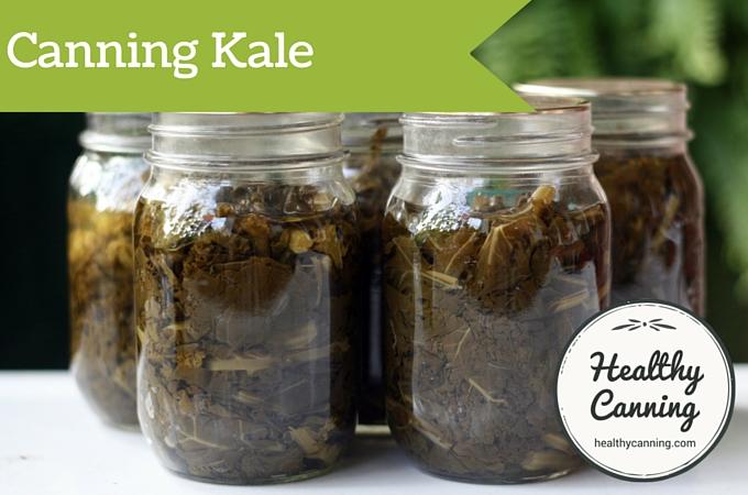 Canning kale