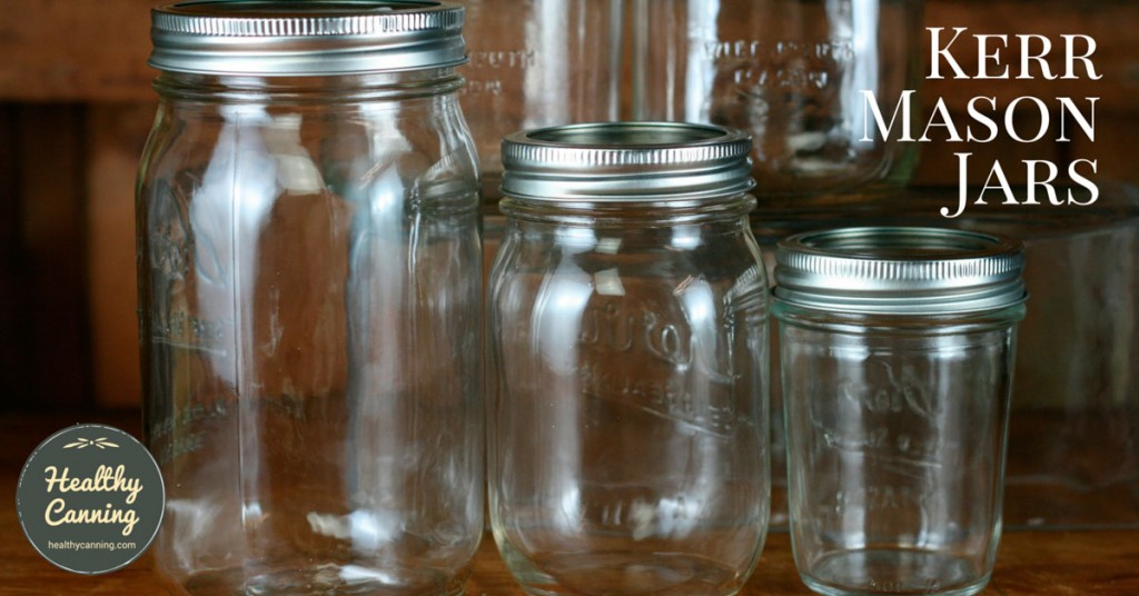 Smooth sided Kerr mason jars