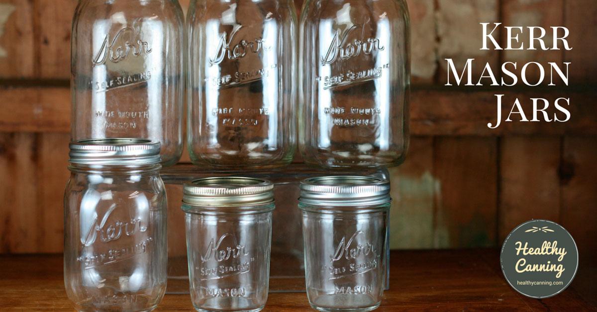 kerr jars healthy canning. Black Bedroom Furniture Sets. Home Design Ideas