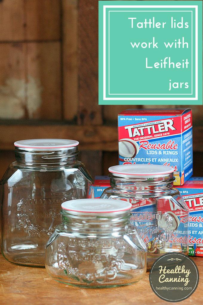 Tatler Lids work on Leifheit Jars
