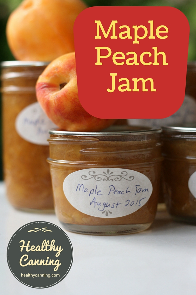 Maple Peach Jam 1001