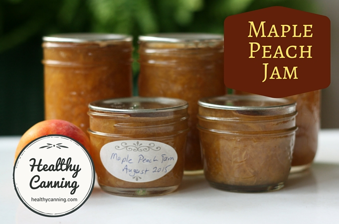 Maple Peach Jam 1005