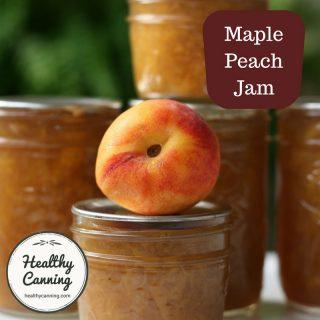 Maple Peach Jam