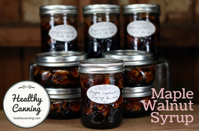 Maple Walnut Syrup 001