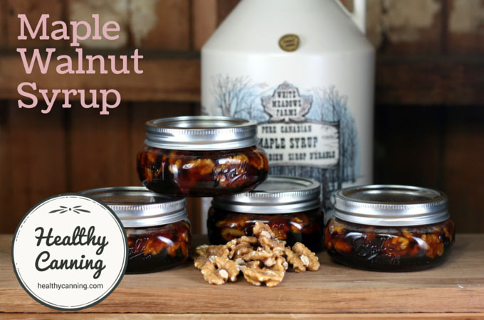 Maple Walnut Syrup 004