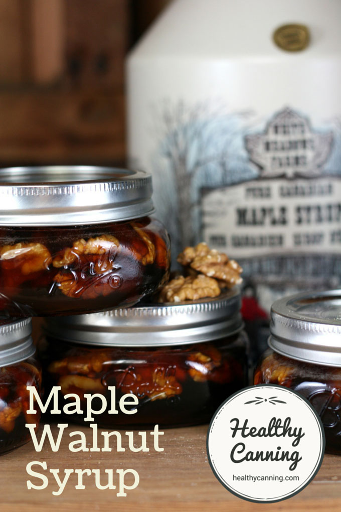 Maple Walnut Syrup 011