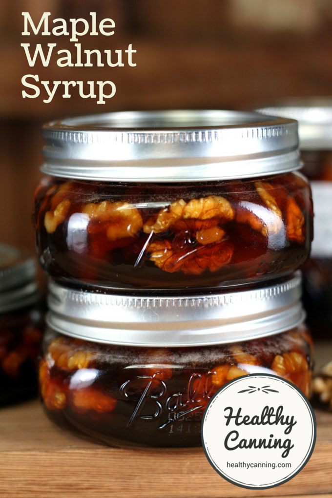 Maple Walnut Syrup 012