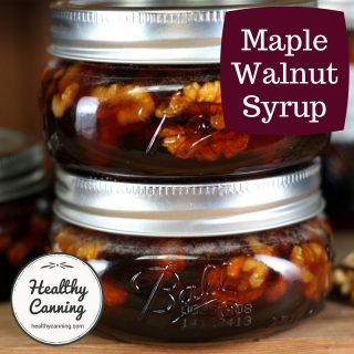 Maple Walnut Syrup