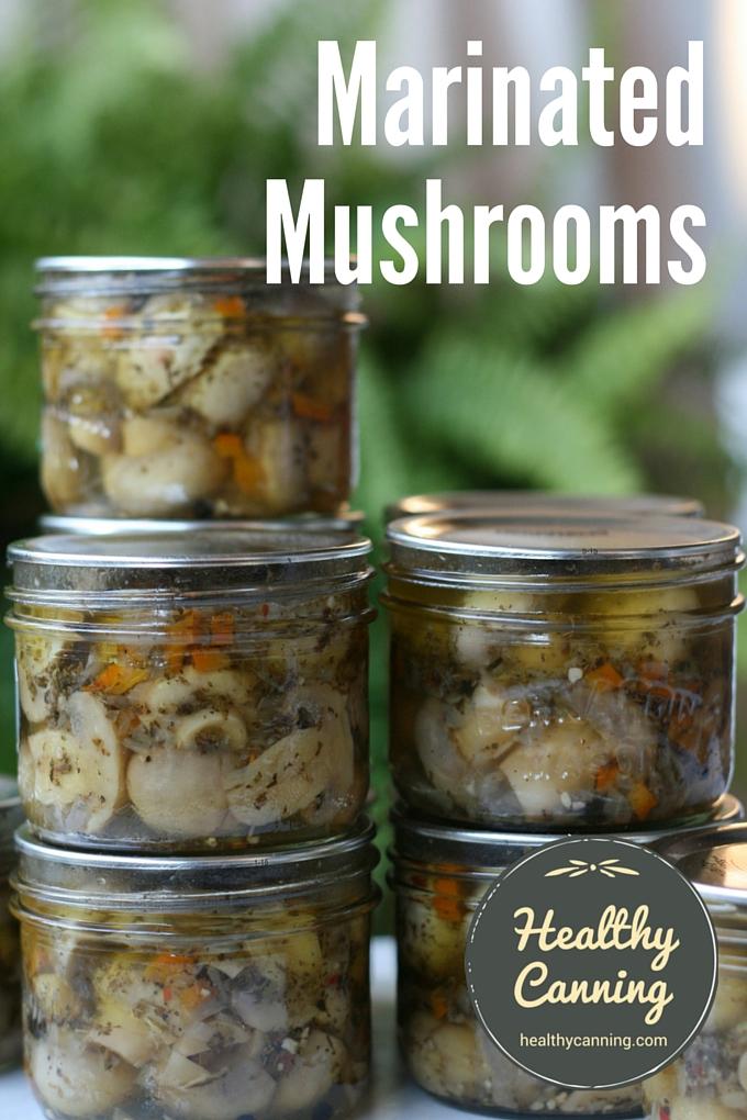 Marinated Mushrooms 2002