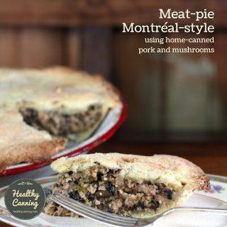 Meat Pie Montréal Style