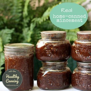 Home canned mincemeat