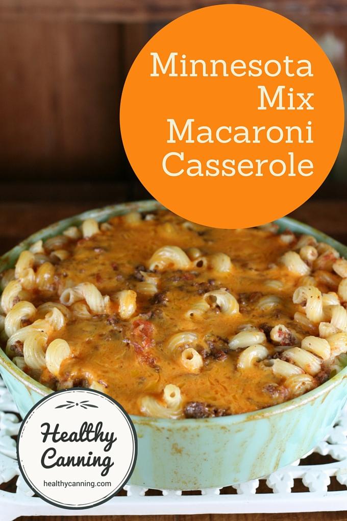 Minnesota Mix Maccaroni Casserole 2001