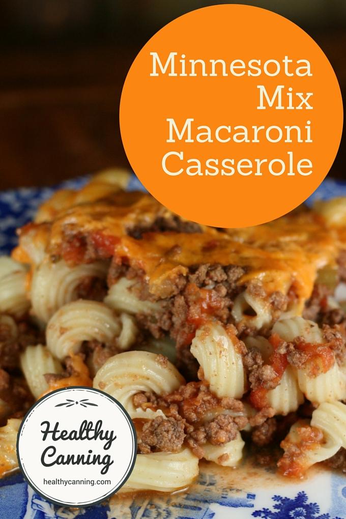 Minnesota Mix Maccaroni Casserole 2003