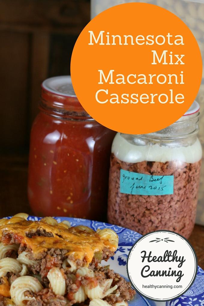 Minnesota Mix Maccaroni Casserole 2004