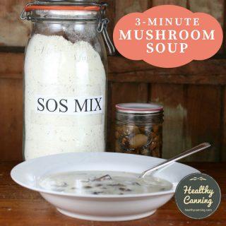 3-Minute Mushroom Soup