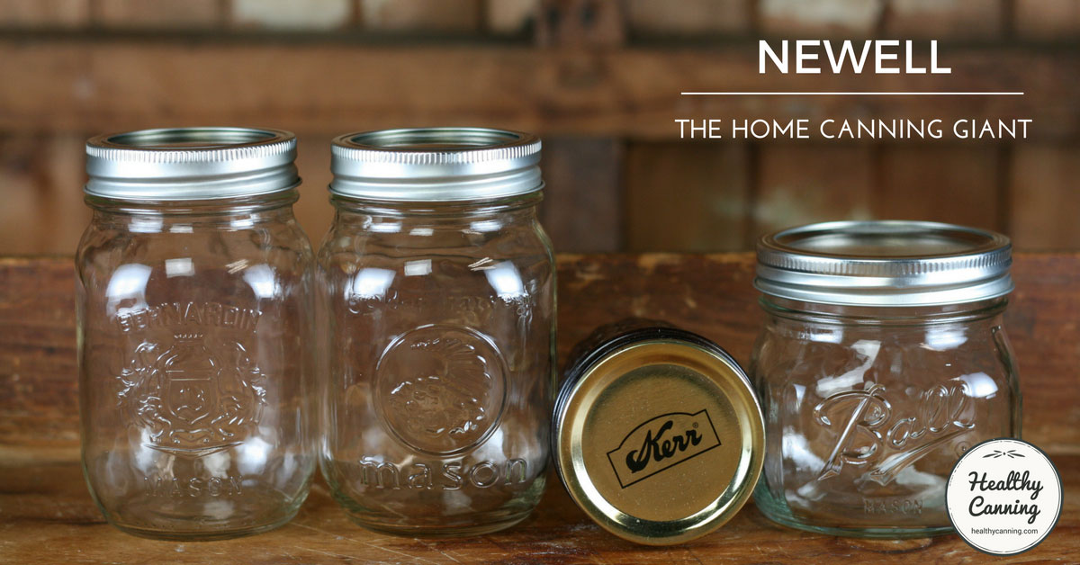 Newell healthy canning for Jarden newell