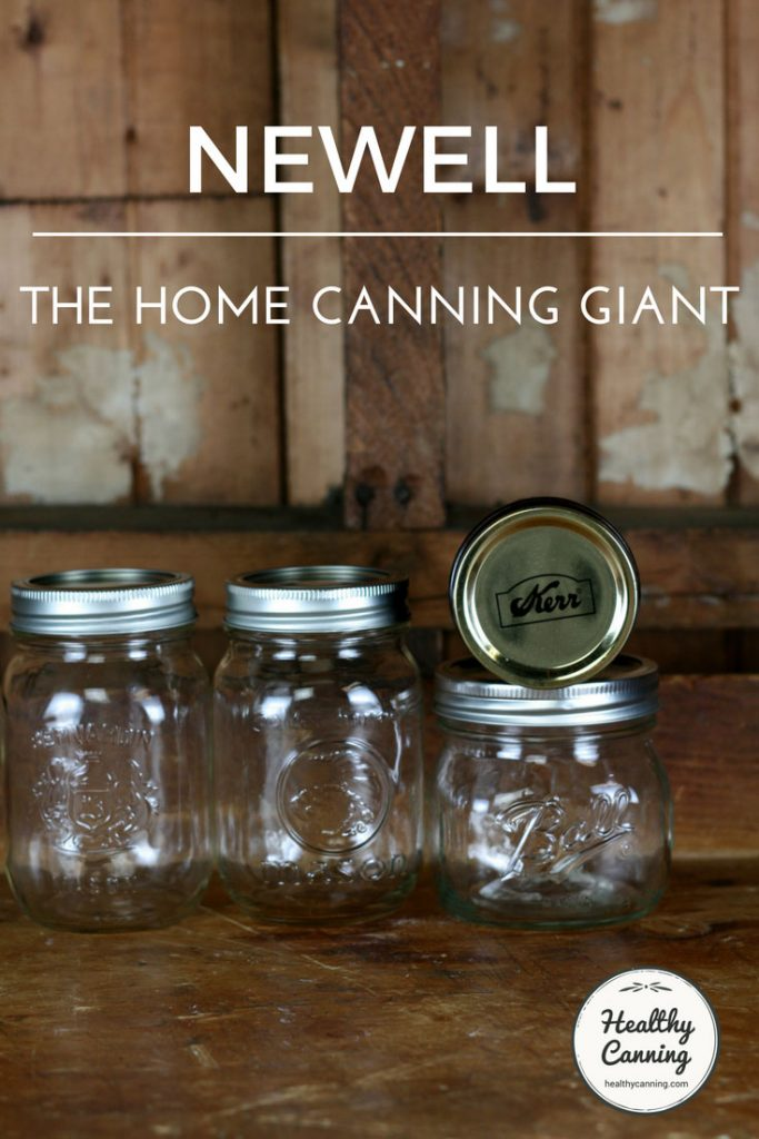 Newell corporation home canning